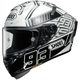 Black/Silver/White X-Fourteen Marquez 4 TC-6 Helmet