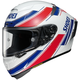 White/Red/Blue X-Fourteen Lawson TC-1 Helmet