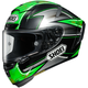 Green/Silver/Black X-Fourteen Laverty TC-4 Helmet