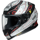 Matte Black/White/Red RF-1200 Vessel TC-5 Helmet