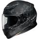 Matte Black/Silver RF-1200 Ruts TC-5 Helmet