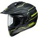 Matte Black/Gray/Hi-Viz Yellow Hornet X2 Navigate TC-3 Helmet