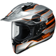 Silver/Black/Orange Hornet X2  Navigate TC-8 Helmet