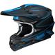 Matte Black/Blue VFX-W Hectic TC-2 Helmet