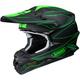 Matte Black/Green VFX-W Hectic TC-4 Helmet