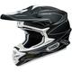 Matte Black/White VFX-W Hectic TC-5 Helmet