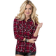 Womens Genevieve Long Sleeve Flannel Shirt