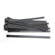 Black 8 in. Ladder Style Fat-Width Stainless Steel Tie Wraps - CPP/9178-20
