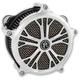 Chrome Dixon Faceplate for Super Gas Air Cleaner - 02062010DIXCH