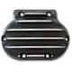 Black/Natural Snatch Ribbed Transmission Side Cover - GB5/R/BC