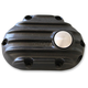 Black Snatch Ribbed Transmission Side Cover - GB6TC/R/B