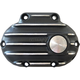 Black/Natural Snatch Ribbed Transmission Side Cover - GB6TC/R/BC