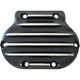 Black/Natural Snatch Ribbed Transmission Side Cover - GBFXR/R/BC