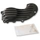 Black Ribsters Cam Cover - CCXL/I/B