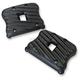 Black Ribsters Rocker Box Covers - RCXLI/R/B