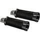 Black Cruiser Footpegs - HDSP-11