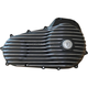 Black/Natural Snatch Ribbed Outer Primary Cover - PCTC/T/R/BC