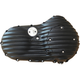 Black Snatch Ribbed Outer Primary Cover - PCXLI/R/B