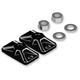 Reverse Cut Billet Chain Adjuster Plate - HDCA449-B