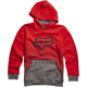 Youth Flame Red Holcomb Pullover Hoody