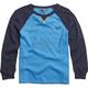 Youth Blue Iola Long Sleeve Shirt