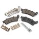 Front Semi-Metallic Brake Pads - 1721-2256