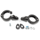 Black 41mm Turn Signal Fork Clamps - 2020-1270