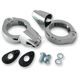 Chrome 49mm Turn Signal Fork Clamps - 2020-1271