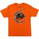 Orange Realtree Black Out T-Shirt
