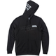 Black Smash Hooded Zip-Up