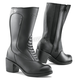 Women's Black Lady Classic Waterproof Boots