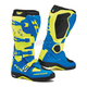 Royal Blue/Yellow Fluorescent Comp EVO Michelin Boots