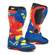 Red/Bright Blue/Yellow Fluorescent Comp EVO Michelin Boots