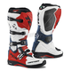 White/Red/Blue Comp EVO Michelin Boots