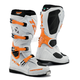 White/Orange Comp EVO Boots