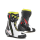 White/Red/Yellow Fluorescent RT-Race Boots