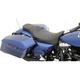 Extended Reach Mild Stitch 2-Up Predator Seat w/Driver's Backrest - 0801-1005