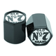 Black/Chrome Old No.7 Valve Stem Covers - 106-239