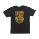 Heather Black Established Tee Shirt