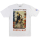 White Ronnie Mac Dirtstar Pro Tee Shirt