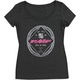 Black Womens Performance Tee Shirt