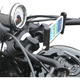 Black Urban Slide  Phone/Tablet/Device Mount for 1 to 1 1/4 in. Bars - ESL-MFB-L