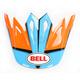 Orange/Blue/Black Visor for Moto-9 Spark Helmets - 7081535