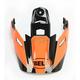 Fluorescent Orange/Black Visor for MX-9 Adventure Stryker Helmets - 7081604