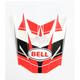 Red/Black Visor for SX-1 Holeshot Helmets - 7081611