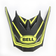Matte Black/Hi-Viz Yellow Visor for SX-1 Whip Helmets - 7081612