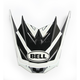 Black/Gray Visor for SX-1 Whip Helmets - 7081616