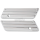 Chrome 10-Gauge Saddlebag Latch Covers - 03-607