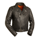 Black The 60's New Yorker Leather Jacket