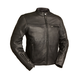 Black The Manchester Leather Jacket